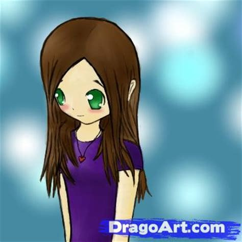 draw  shy anime girl step  step anime people