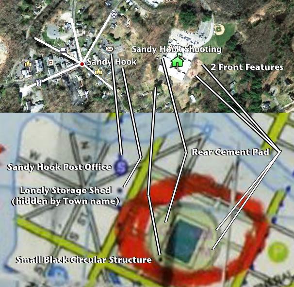 Gotham City real world Sandy Hook compared