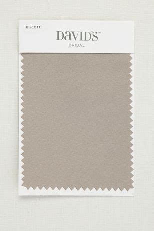 Biscotti Fabric Swatch   Davids Bridal