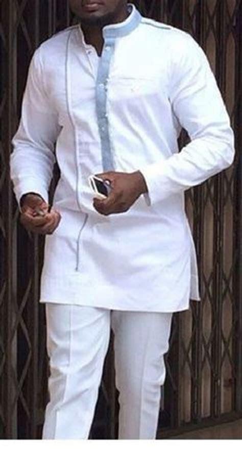 White Dashiki for Wedding   Modern African dress styles