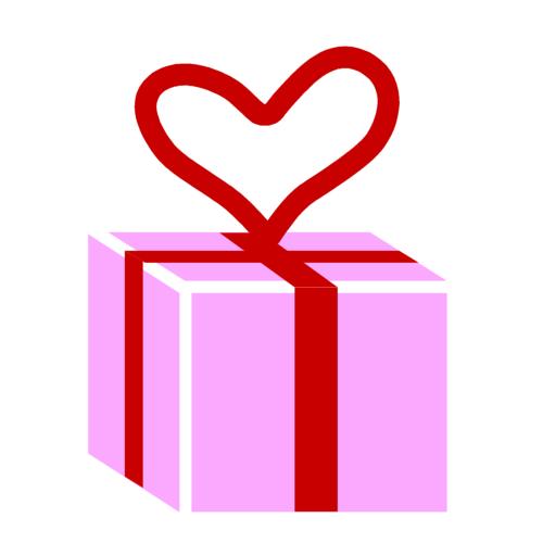 プレゼントボックスの無料イラストオーフリー写真素材