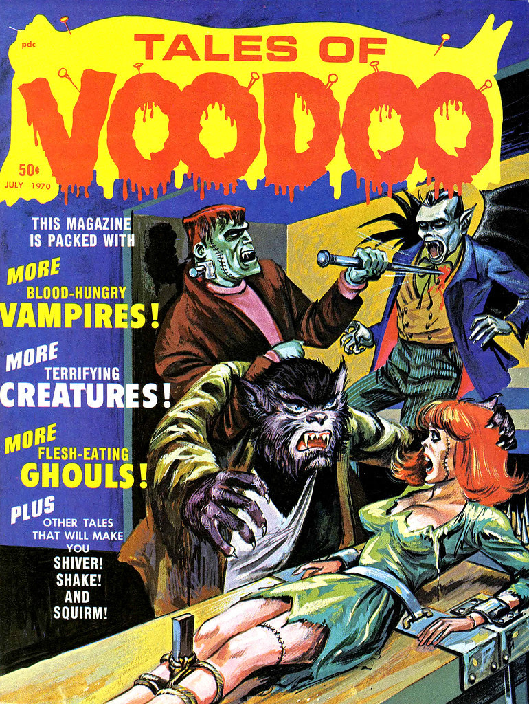 Tales of Voodoo Vol. 3 #4 (Eerie Publications 1970)