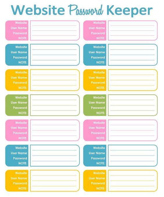 Online Shopping Tracker - Bag Design, Editable, Organizing ...