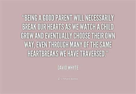 Being Good Parents Quotes