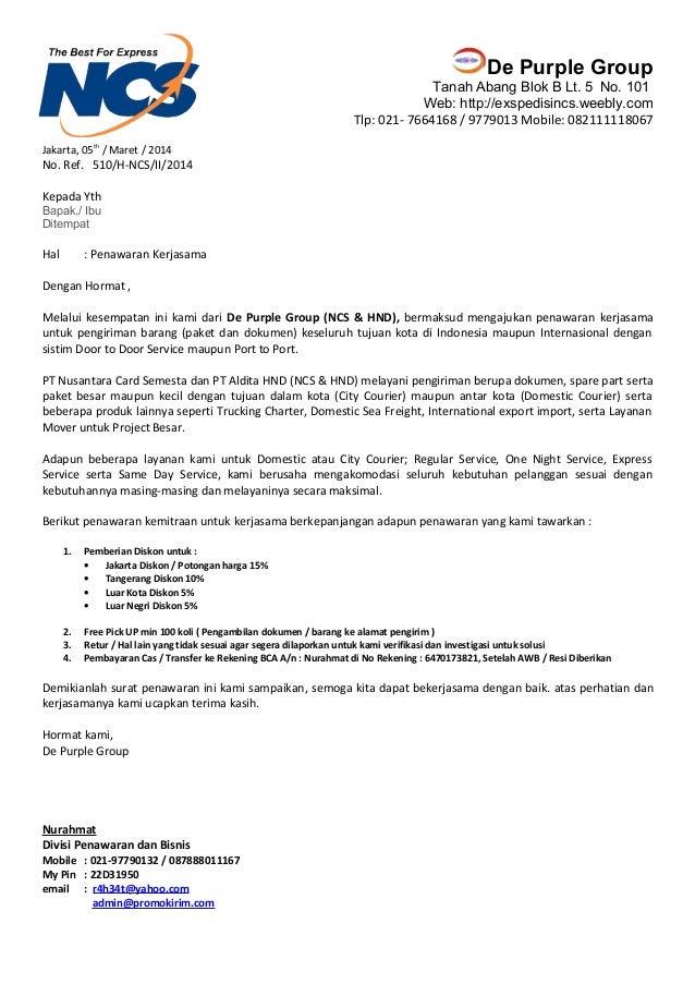 Contoh Surat Permohonan Kerjasama Dengan Puskesmas - Surat W
