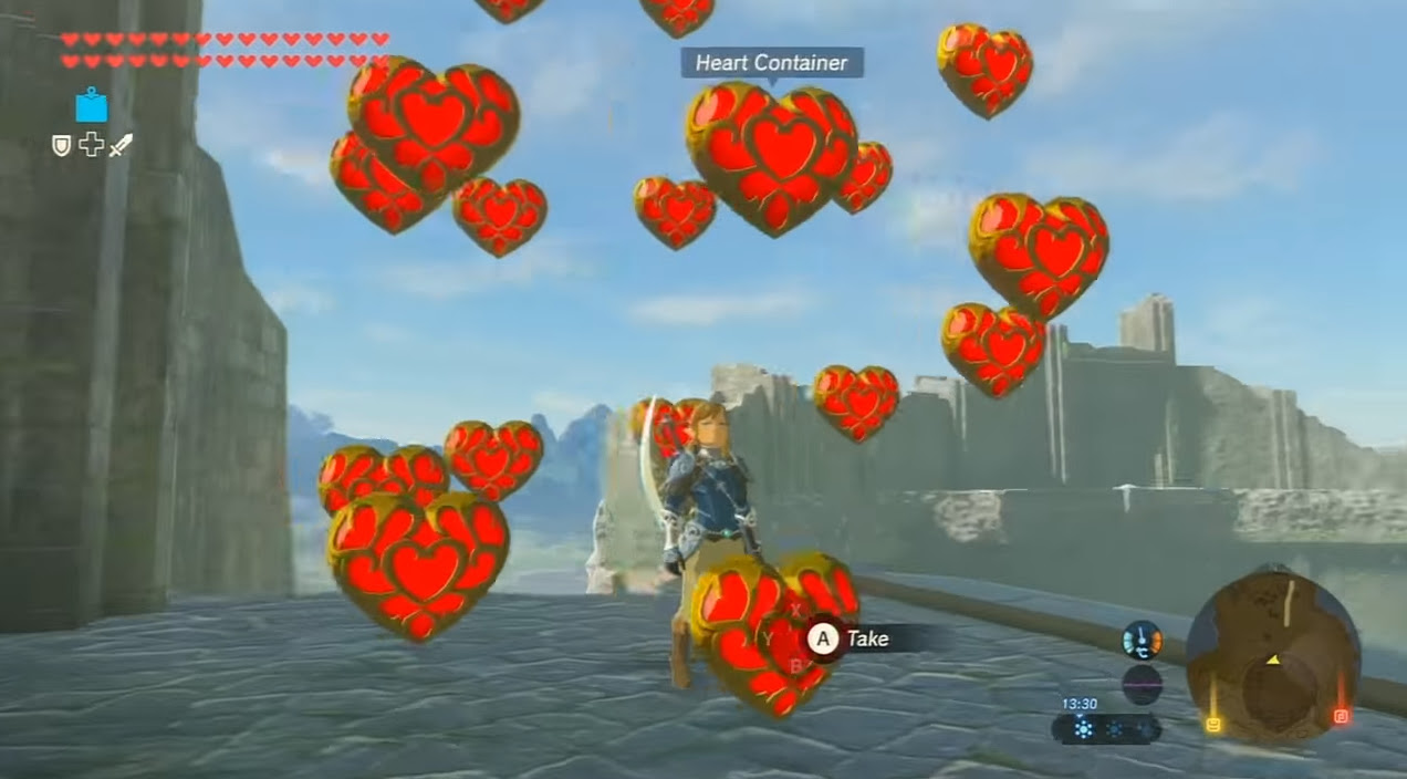 Incredible Zelda: Breath of the Wild cheat lets you spawn anything, anywhere screenshot