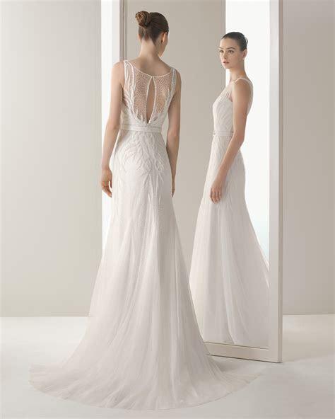 soft  rosa clara wedding dresses  modwedding