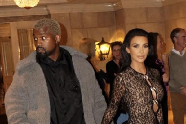 d4264d438 Kim Kardashian  enciende  Beverly Hills con  catsuit  de encaje