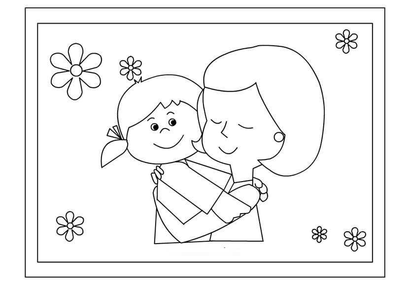 Anneler Günü Için Boyama Sayfaları Gauranialmightywindinfo