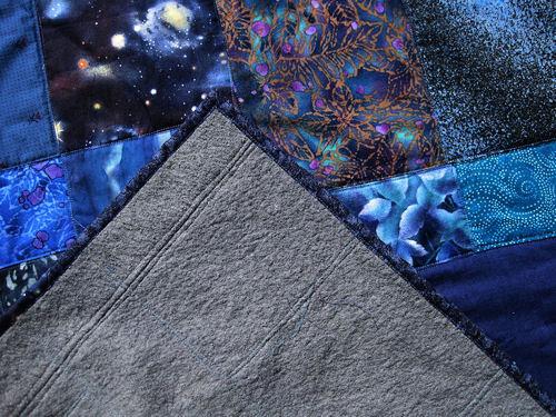 blue quilt :: blått #3