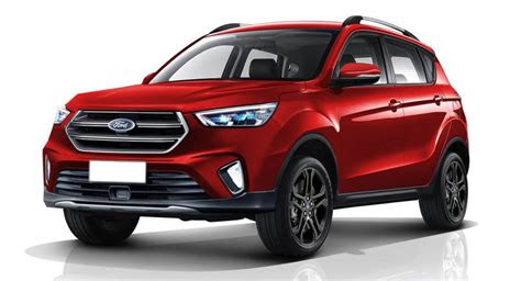 ford ecosport   escape inspired redesign