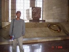 Makam Mustafa Kamal Attaturk Di Attaturk Mausoleum, Ankara, Turkey