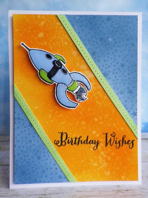 Birthday Rocket