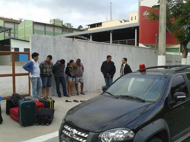 Grupo suspeito de praticar golpe de mais de R$ 1 milhão é preso em Minas Gerais Foto: Polícia Civil do MG / Divulgação
