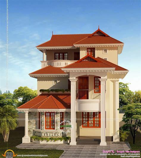 small plot house plan kerala home design  floor plans