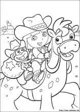 Dibujos De Dora La Exploradora Para Colorear En Colorear Net