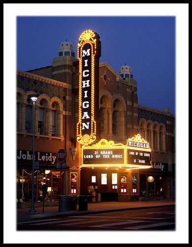 Michigan Theatre, Ann Arbor by sjb4photos