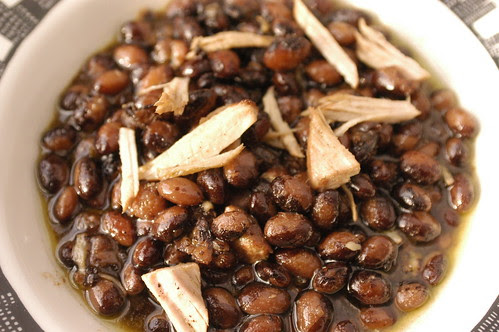 pork and beans for Little Bean