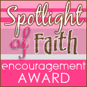 Spotlight of Faith Award from Faith Lifts