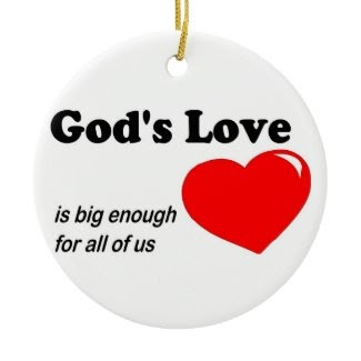 christian sayings god 39 s love is big enough for all of us. Black Bedroom Furniture Sets. Home Design Ideas