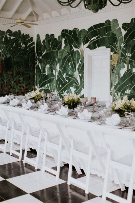Stylish Jamaica Destination Wedding at Half Moon Rock
