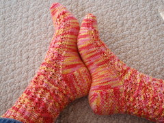 Mystery socks finished