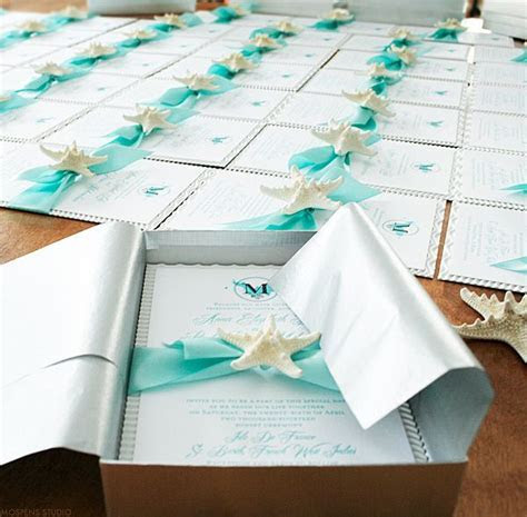 Beach Wedding Invitations on Pinterest   Destination