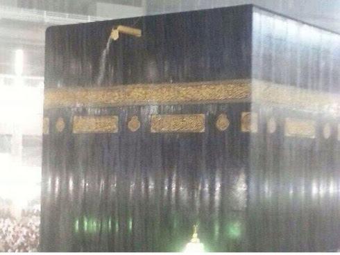 Gambar Tersebar Di Internet, Makkah Dilandar Banjir?