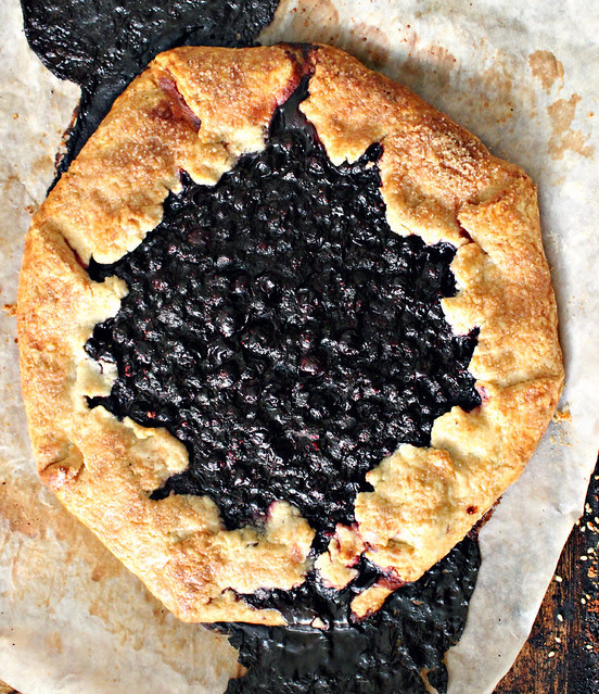 Blueberry & Lemon Galette