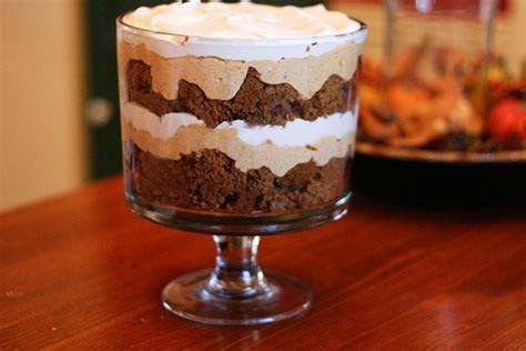 Pumpkin Gingerbread Trifle ? The Culinary Couple