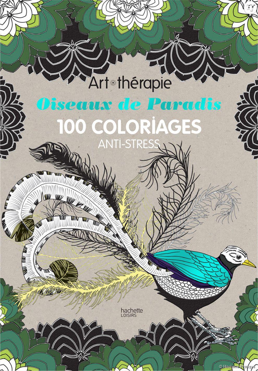 Oiseaux de Paradis 100 coloriages anti stress