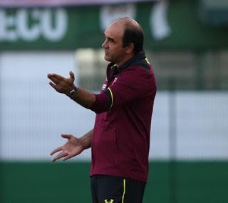 Ricardo Gomes Chapecoense x São Paulo (Foto: Rubens Chiri / saopaulofc.net)