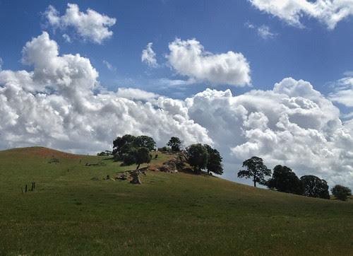 Empire Mine Road clouds 2