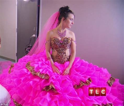 Is this the most outrageous wedding dress ever? Bride on