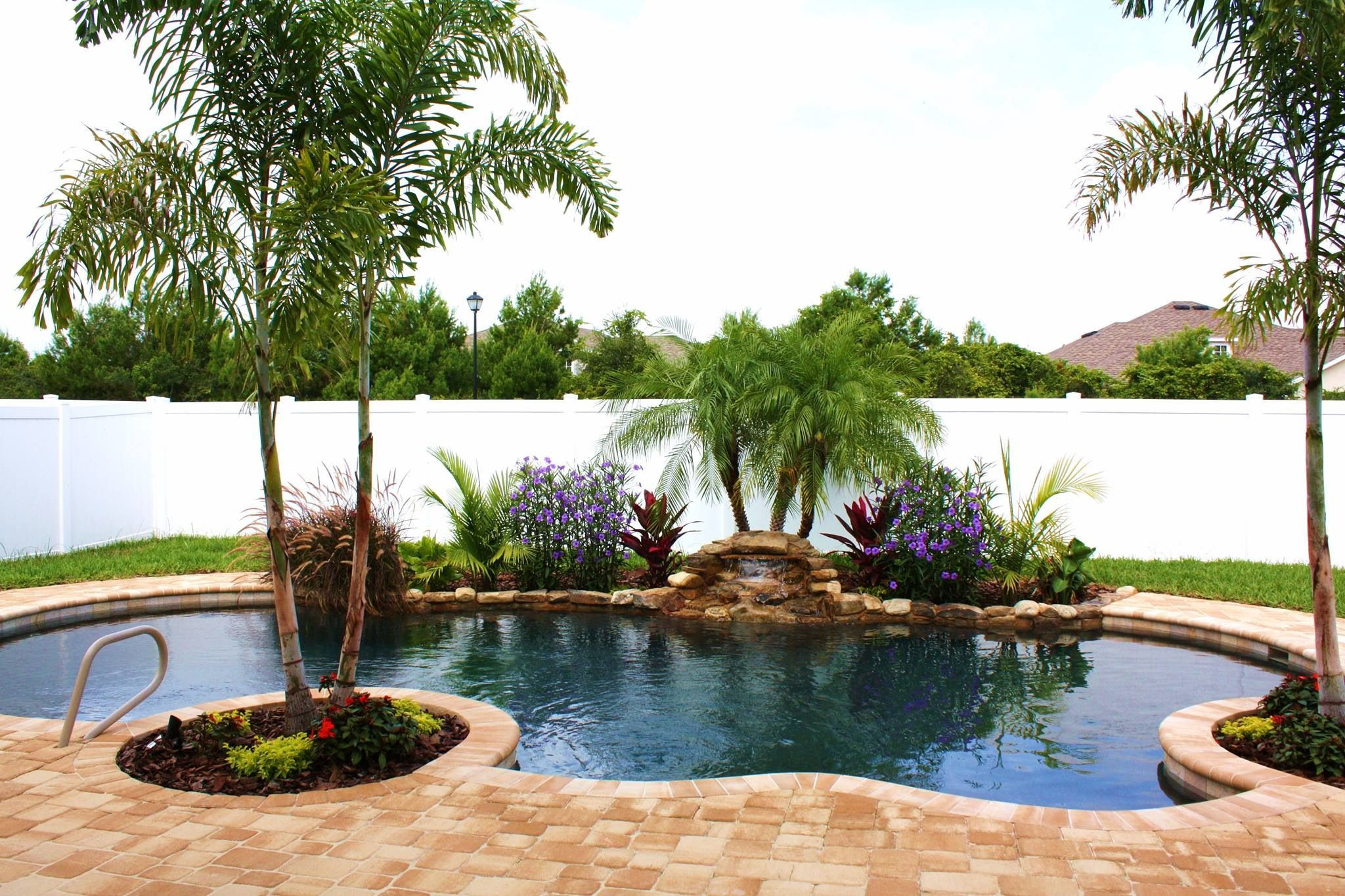 Landscape ideas for small backyard with pool ztil news for Channel 4 garden design ideas