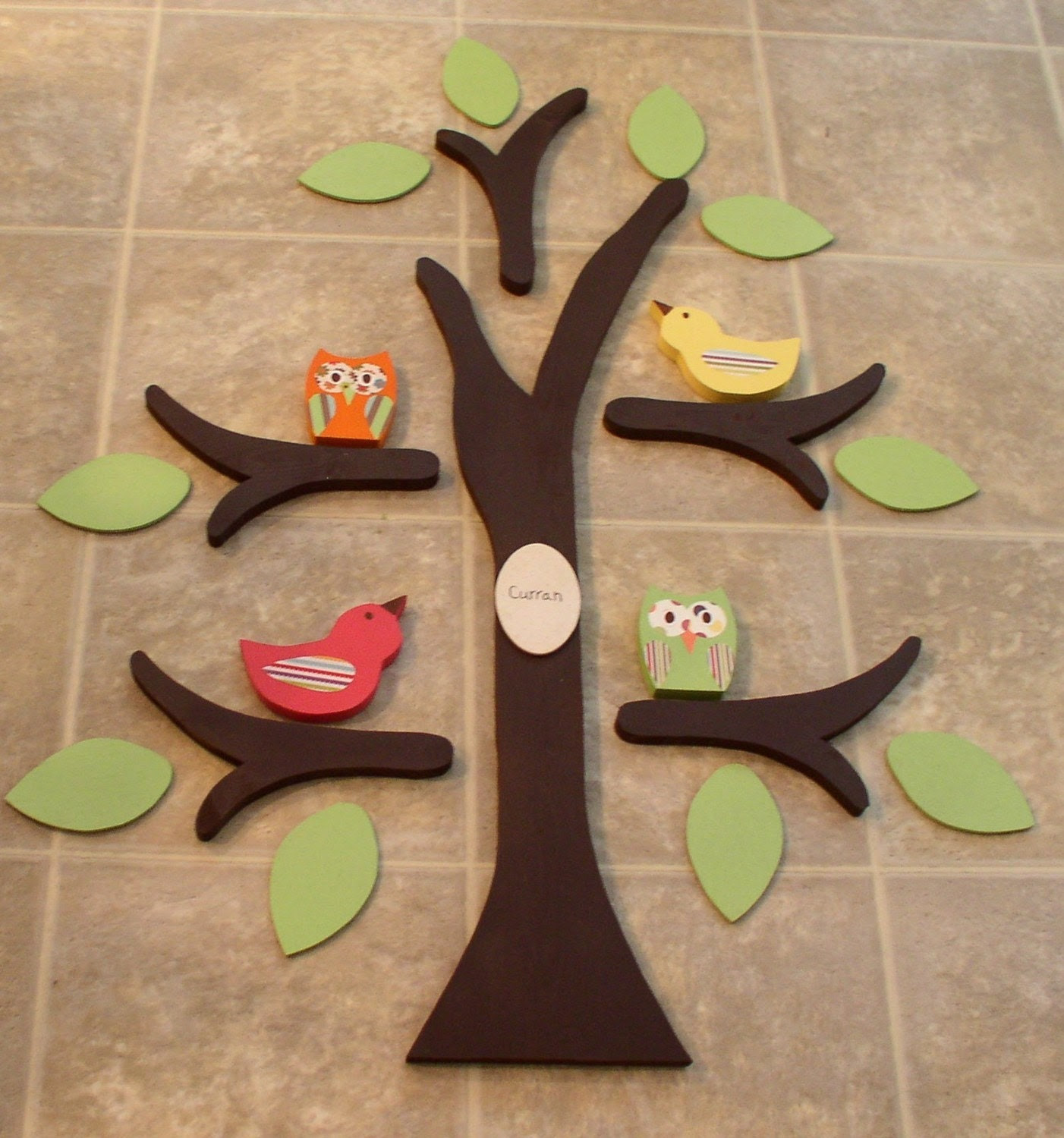 Wooden Tree wall decor/nursery decor made from by TheWoodenOwl