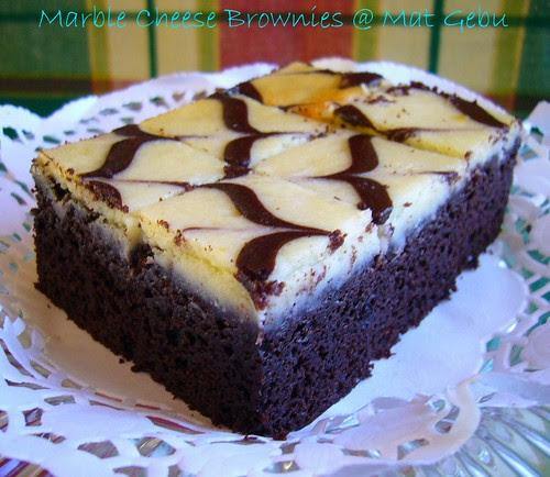 Marble Cheese Brownies