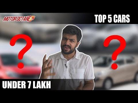 Top 5 Cars under Rs 7 lakhs   2020 India   Hindi   Motoroctane