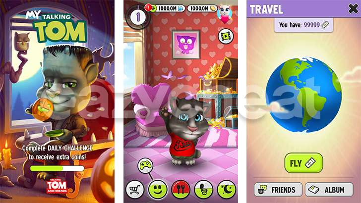 My Talking Tom Unlimited Coins Diamonds