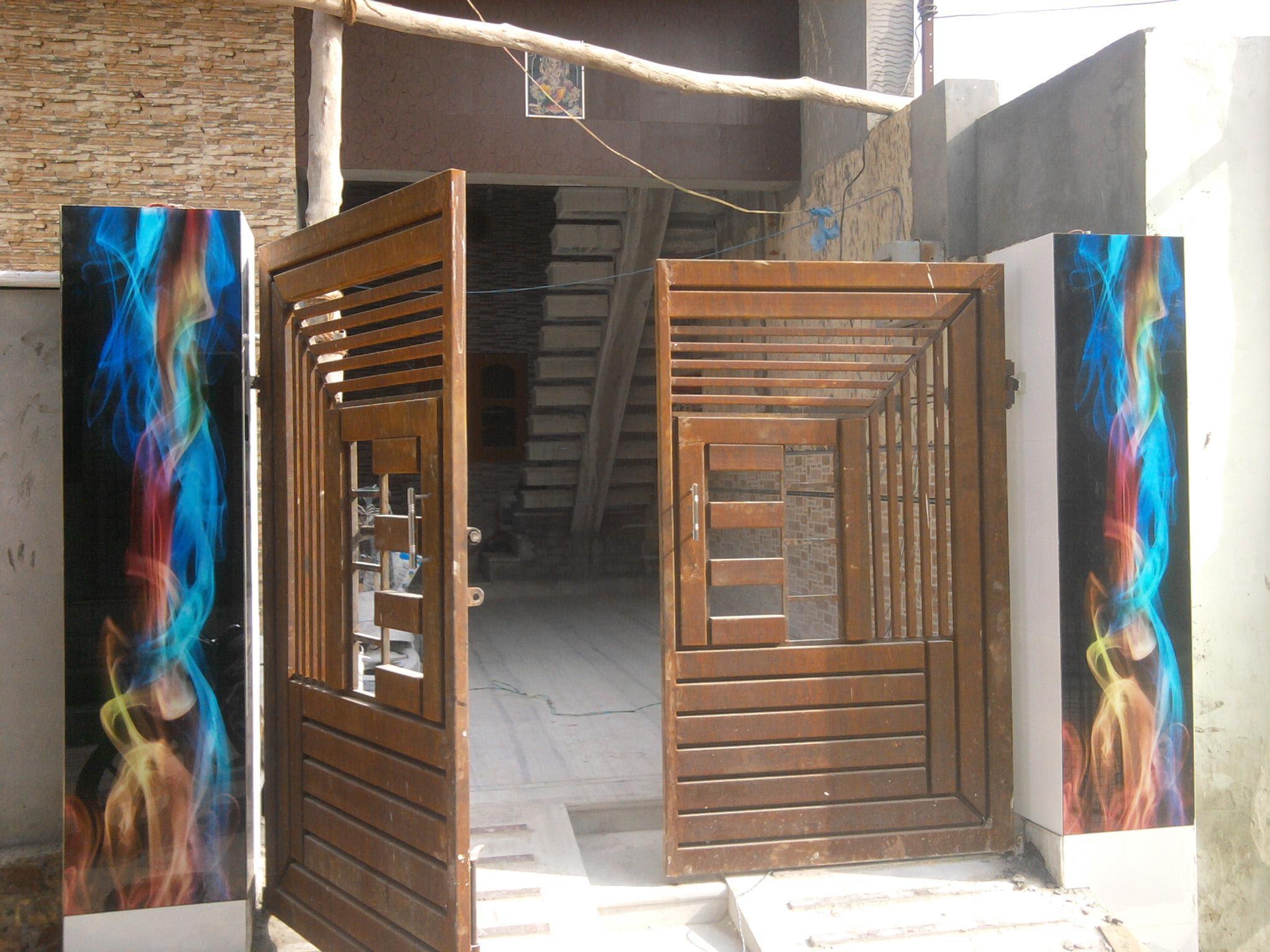 Iron Main Door Design Sample Gharexpert