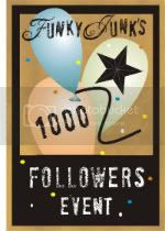 Funky Junk Interiors' 1000 Followers Event