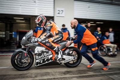 Se estrena la nueva KTM de MotoGP™