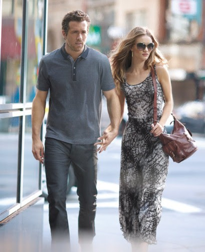 Ryan Reynolds and Rosie Huntington-Whiteley for Marks & Spencer Autograph spring/summer 2012
