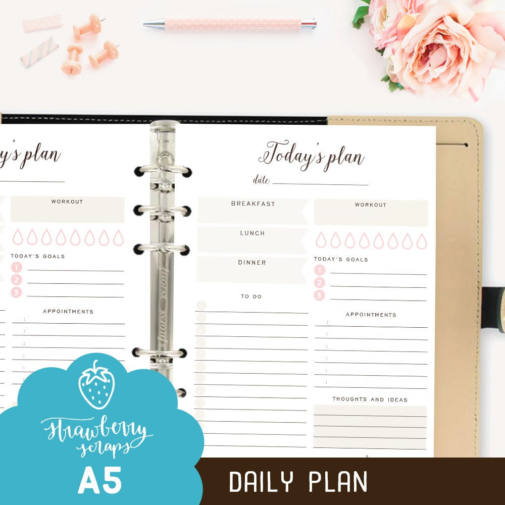 Planner inserts | Etsy