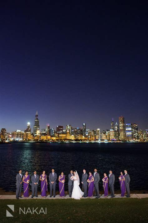 Chicago Millennium Park   Skyline at Night! Indian Wedding