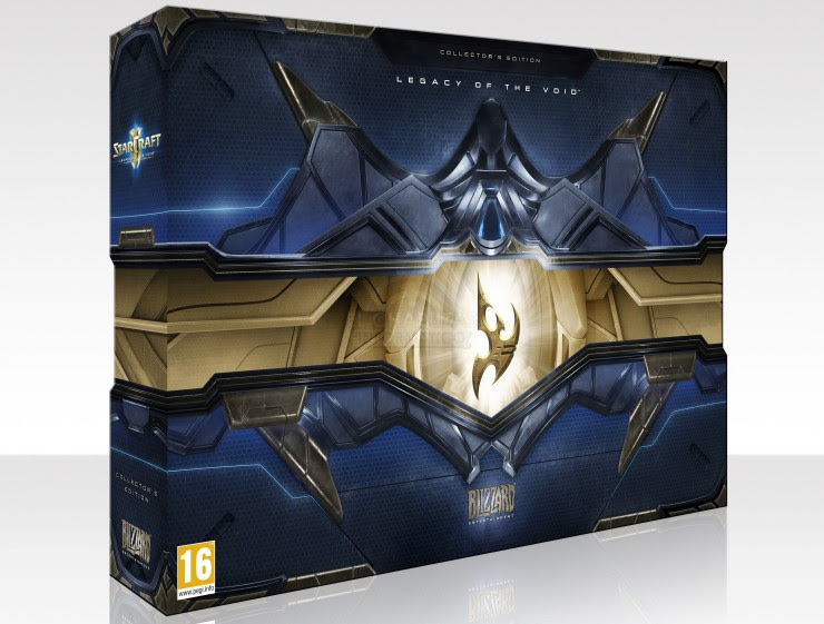 StarCraft II Legacy of the Void Edición Coleccionista