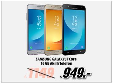 SAMSUNG Galaxy J7 Core 16GB Akıllı Telefon 949TL