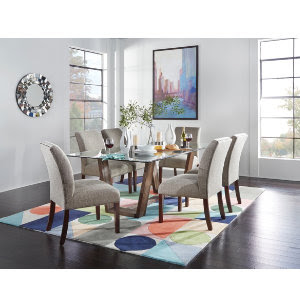 Upholstered Parsons Collection | Casual Dining | Dining Rooms ...
