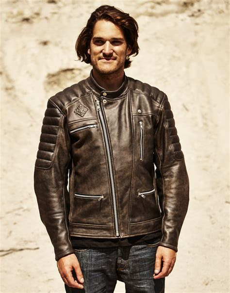 Ride & Sons Empire Leather Motorcycle Jacket