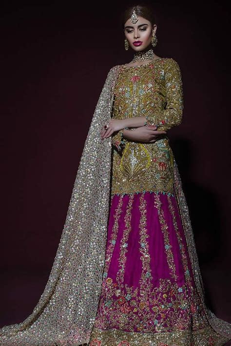 25  best ideas about Pakistani Bridal Dresses on Pinterest